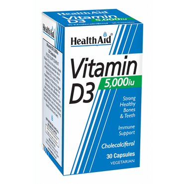 HealthAid Vitamin D3 50 000iu - 30 Tablets