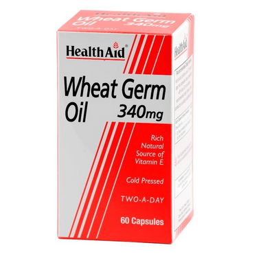 HealthAid Wheat Germ Oil 340mg - 60 Capsules