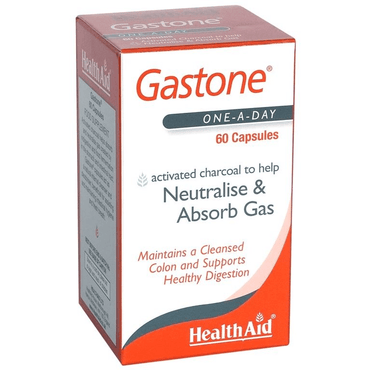 HealthAid Gastone (Activated Charcoal) - 60 Capsules
