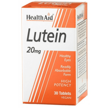 HealthAid Lutein 20mg - 30 Tablets