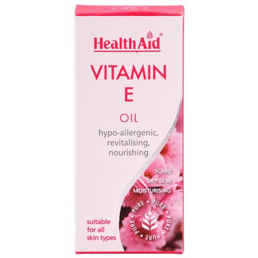 HealthAid Vitamin E (100% Pure) - 50ml Oil