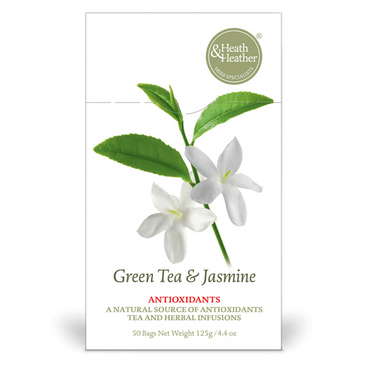 Heath And Heather Green Tea with Jasmine 50 bags