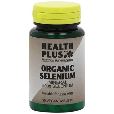 Health Plus Organic Selenium 50ug 90 VTabs  to protect the immune system as a