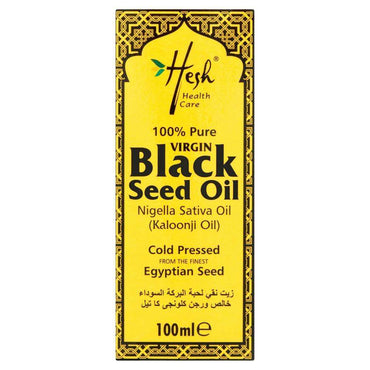Hesh 100% Pure Virgin Black Seed Oil 100ml