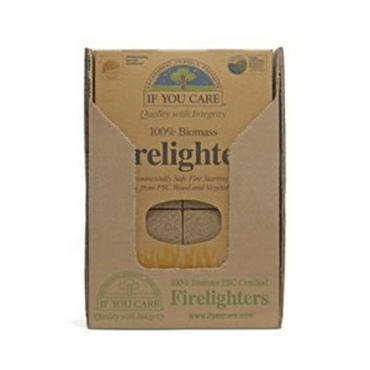 If You Care Firelighters. Non toxic wood and vegetable 72 pieces