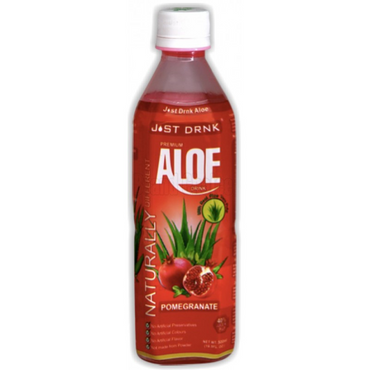 Just Drink AloeStrawberry 500ml (Pack of 2)