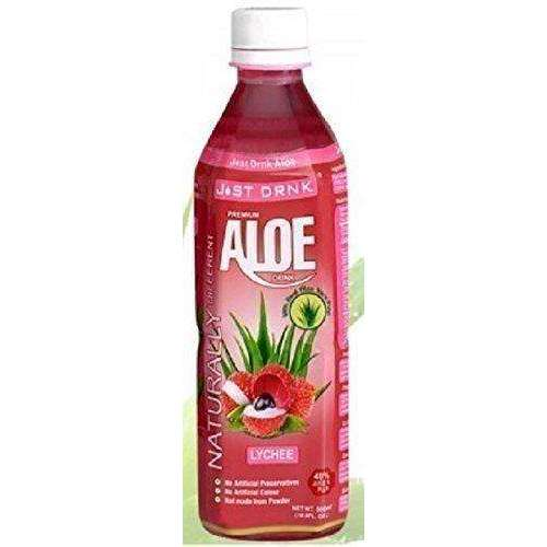 Just Drink AloeLychee 500ml (Pack of 2)