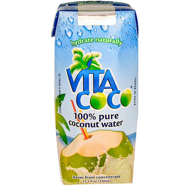 Just Drink Aloe Just Drink 100% Pure Coconut Water 330ml (Pack of 2)