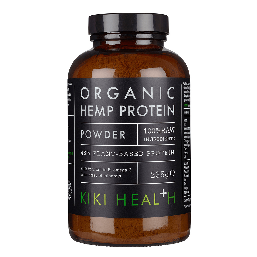 KIKI Health Organic RAW Hemp Protein Powder 235g