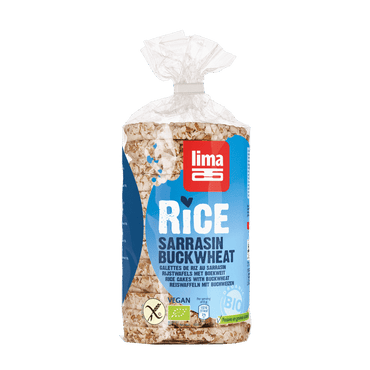 Lima Rice Cakes with Buckwheat 100g