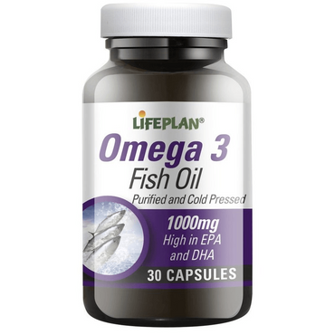 Lifeplan Omega 3 Concentrated Fish Oils 30 caps
