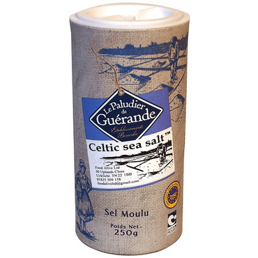 Le Paludier Celtic sea salt shaker 250g