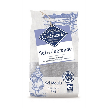 Le Paludier Bag of 1 Kg coarse Celtic sea salt