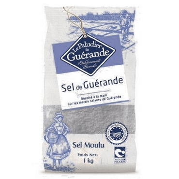 Le Paludier Celtic Sea Salt Fine 1000g Hand-harvested and unrefined.