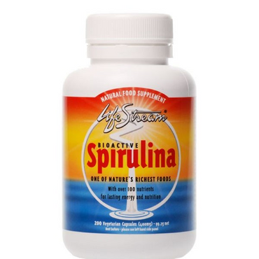 Lifestream Spirulina 400mg 100 Capsules