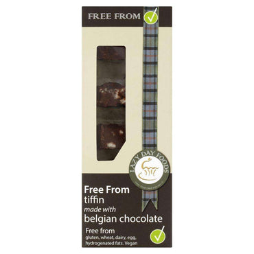 Lazy Days Belgian Chocolate Tiffin 150g (Pack of 2)
