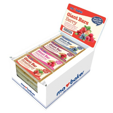 Ma Baker Giant Bars Berry Mix Box of 20