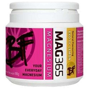 Mag365BF Magnesium Supplement Exotic Lemon 180g