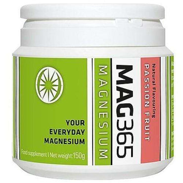 Mag365Magnesium Citrate powder - Passion Fruit 150g