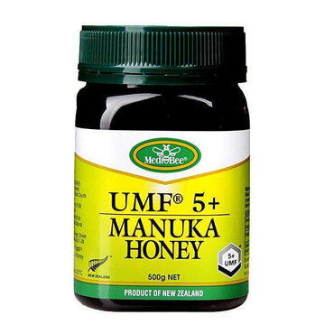 Medi-bee Active 5+ Manuka Honey 500g