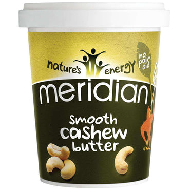 Meridian Smooth Cashew Butter 454g