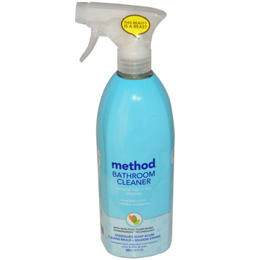 Method Bathroom Spray 828ml - Eucalyptus & Mint