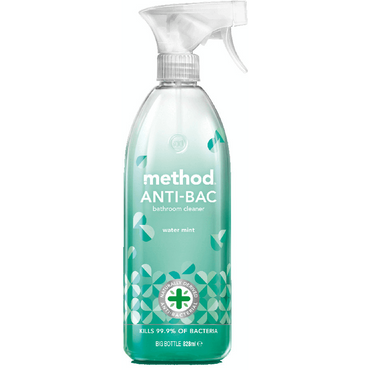 Method Anti-bac Bathroom Cleaner Watermint 828ml