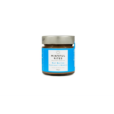 Mindful Bites Nut Butter Jar - Hazelnut & Berries 185g