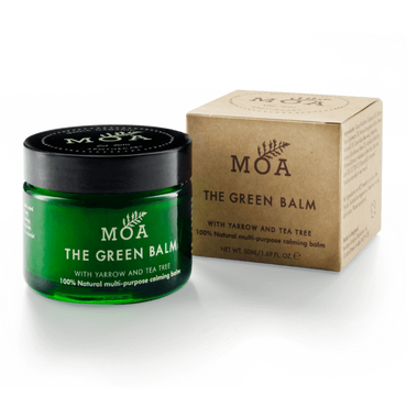 MOA Magic Organic Apothecary The Green Balm - 100% natural healing balm with organic yarrow.