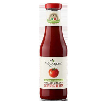 Mr OrganicNaturally Sweetened Italian Organic Ketchup 480g