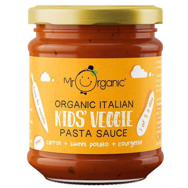 Mr Organic Organic Kids Pasta Sauce - Carrot  Sweet Potato 200g