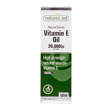 Natures Aid Vitamin E Oil 20 000iu 50ml