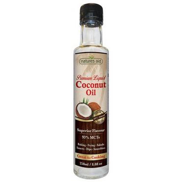 Natures Aid Liquid Coconut Premium Oil 300ml