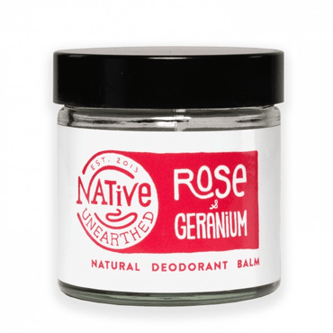 Native Unearthed Rose and Geranium Balm 60ml