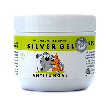 Nature's Greatest Secret Pets Anti-fungal Colloidal Silver Gel 100ml