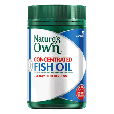 Natures Own Fish Oil 1000mg 60 caps