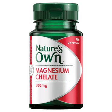 Natures Own Biofood Magnesium: 100 mg (60 tablets)