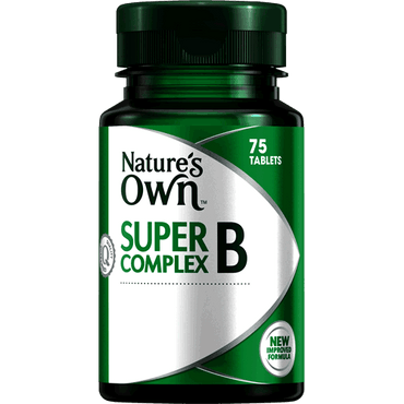 Natures Own Vitamin B Complex Plus Vitamin C & Mag: (50 tablets)