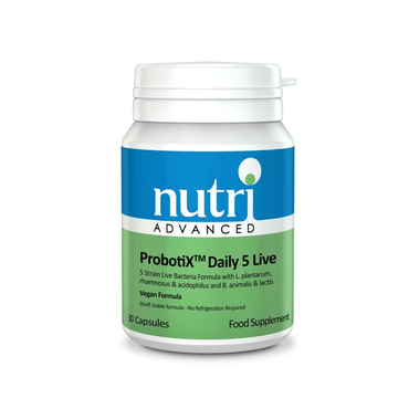 Nutri Advanced ProbotiX Daily 5 Live 30 Capsules