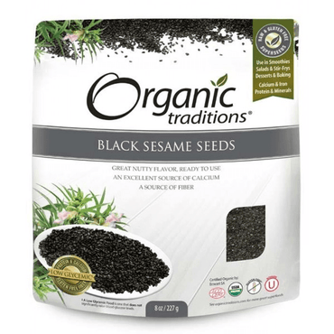 Organic Traditions Black Sesame Seeds 200g
