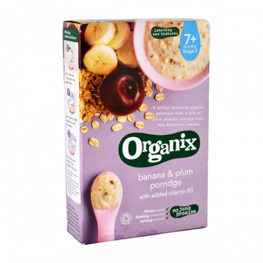 Organix Banana and Plum Porridge 200g