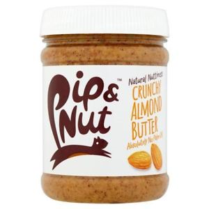 Pip and Nut Crunchy Almond Butter Jar 225g