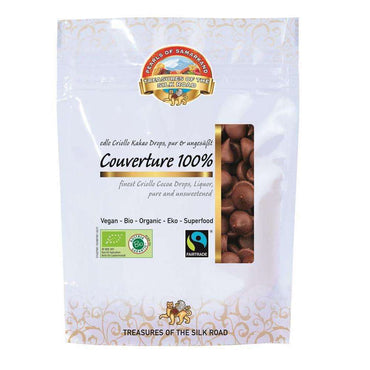 Pearls of Samarkand Organic FT pure Criollo cacao drops  vegan