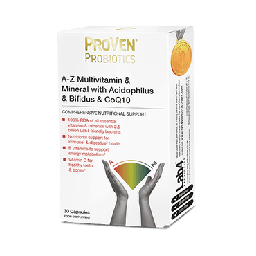 Proven A-Z Multivitamins & Mineral with Acidophilus & Bifidus &a