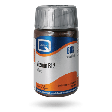 Quest Vitamin B12 500mcg 60 Tablets
