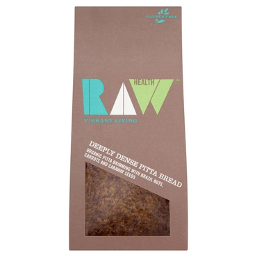 Raw HealthOrganic Deeply Dense Pitta Bread 90g