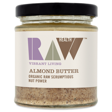 Raw Health Organic Raw Whole Almond Butter 170g