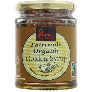 Rayners Essentials Fairtrade Organic Golden Syrup 340g