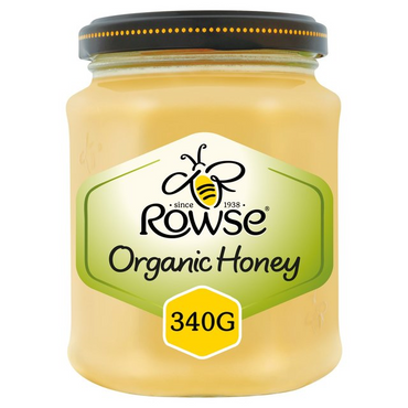Rowse Organic Set Honey 340g