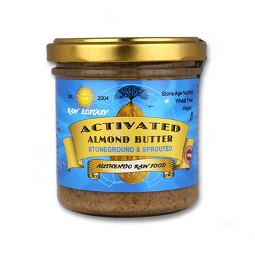 Raw Ecstasy Stoneground Activated Almond Nut Butter 140g